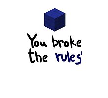 You broke the rules by Andorelea