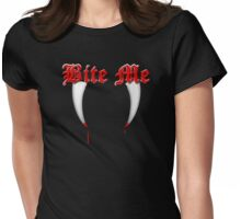 Bite Me II Womens Fitted T-Shirt