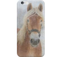 Winter Horse  - JUSTART © iPhone Case/Skin