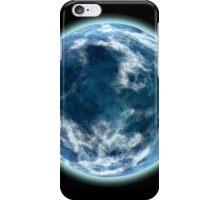 blue planet iPhone Case/Skin