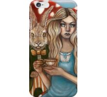 Alice and the March Hare iPhone Case/Skin
