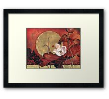 """Moonlight Lullaby"" from the series ""In the Lotus Land"" Framed Print"