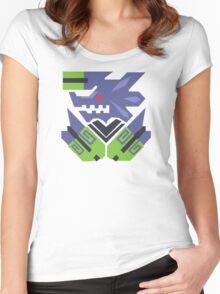 Brachydios Monster Hunter Print Women's Fitted Scoop T-Shirt