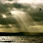 Sunrays over the North Atlantic by irishrain