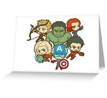 The Avengers Greeting Card