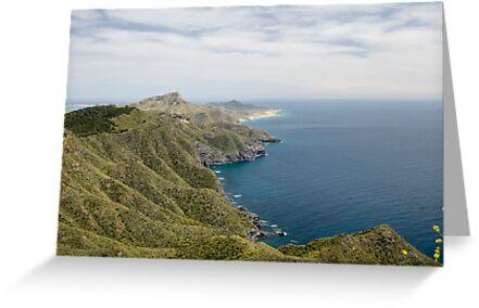 Calblanque Natural Park taken from Bateria Cenizas, Costa Calida, Spain by Squealia