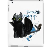 How to train your dragon - Toothless Splatter iPad Case/Skin