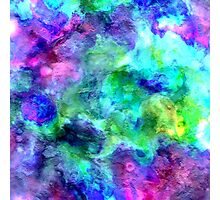 watercolor texture Photographic Print