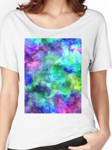 watercolor texture Women's Relaxed Fit T-Shirt