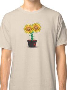 Siamese Sunflower Classic T-Shirt