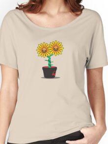 Siamese Sunflower Women's Relaxed Fit T-Shirt