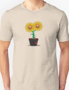 Siamese Sunflower T-Shirt