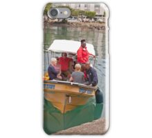 Small boat in St Lucia iPhone Case/Skin