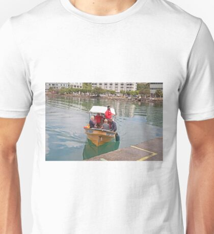 Small boat in St Lucia Unisex T-Shirt