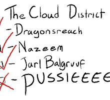 Do you get to the cloud district very often? by r4gn0r0kxxx