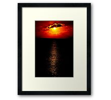 The Sunset Collection-Irish Design Framed Print