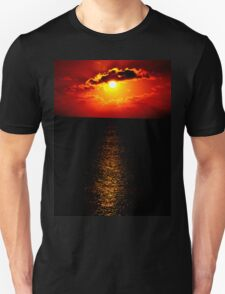 The Sunset Collection-Irish Design Unisex T-Shirt