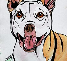 #2: HONEY the Tripawd Pitbull: Messages from the Dogs Oracle Deck by mellierosetest