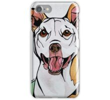 #2: HONEY the Tripawd Pitbull: Messages from the Dogs Oracle Deck iPhone Case/Skin