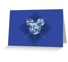 Diamond Mickey #2 Greeting Card