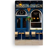 London Pub Canvas Print