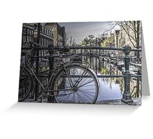 Morning On The Canal Greeting Card