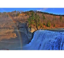 Letchworth State Park X HDR Photographic Print
