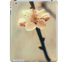 White Tree Blossoms iPad Case/Skin