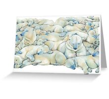 Polar Wall Greeting Card