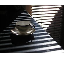 pyramid tea cup  Photographic Print