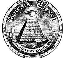 The Gate Seal of the Idol Shepherd  by Calgacus