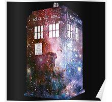 Galaxy Tardis Who Artwork Poster
