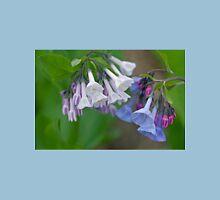 Virginia Bluebells Wildflowers - Mertensia virginica Unisex T-Shirt