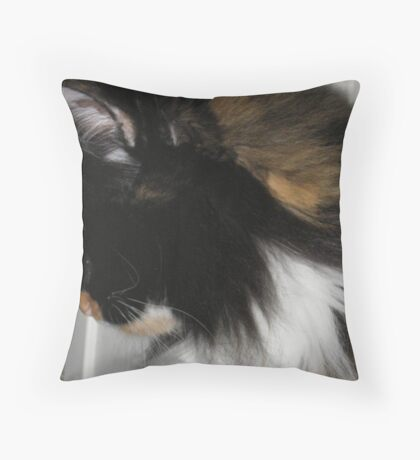 Shy Lucy Throw Pillow