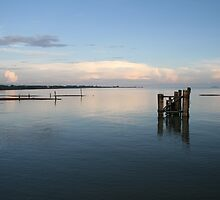 Laem Gob Pier  by Kaylea