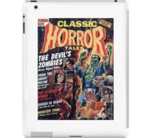 Classic Horror Tales Tee & Art iPad Case/Skin