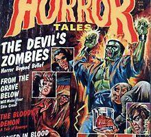 Classic Horror Tales Tee & Art by MrDarksnasty
