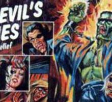 Classic Horror Tales Tee & Art Sticker