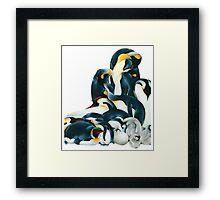 Penguin Dream Framed Print