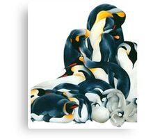 Penguin Dream Canvas Print