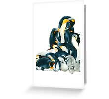 Penguin Dream Greeting Card