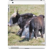 Mother & Baby Cow iPad Case/Skin
