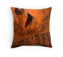 Neon Canyon Throw Pillow