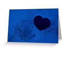 Bluebubble Heart <3 Greeting Card