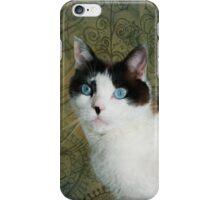 """""""Flowery Feline"""" iPhone Case/Skin"""
