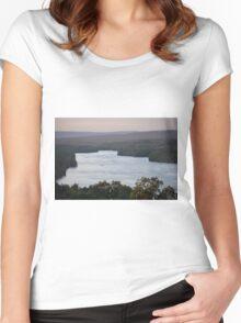 Blue Marsh Lake Women's Fitted Scoop T-Shirt