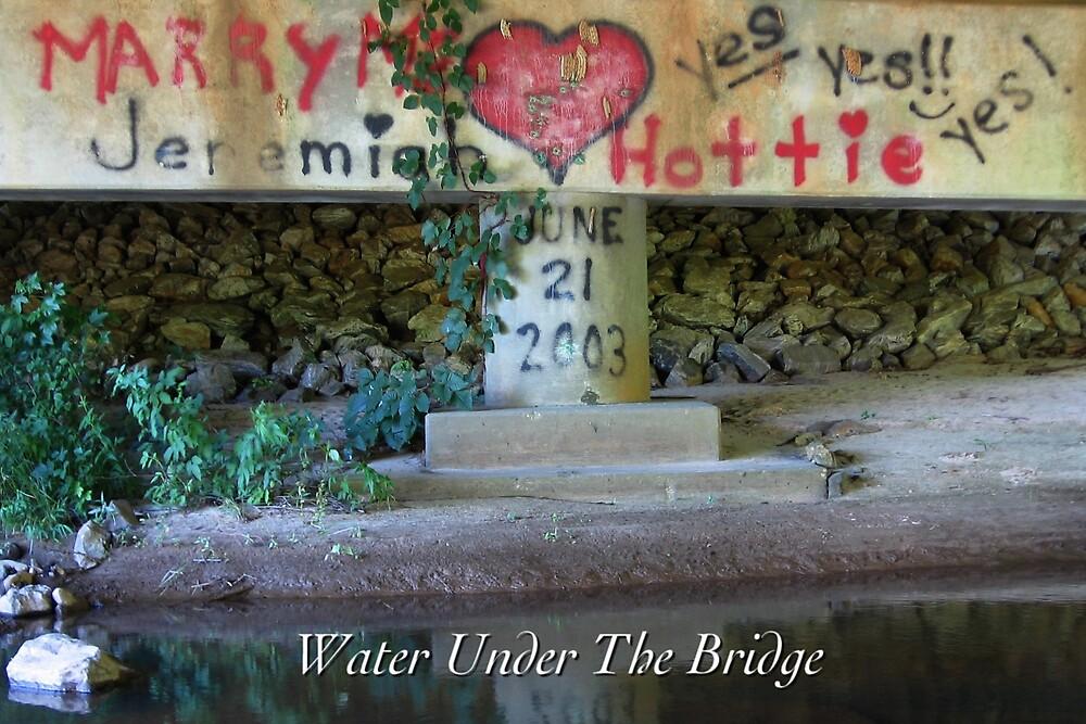 Water Under The Bridge by JpPhotos