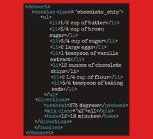 Cookies HTML One Piece - Short Sleeve