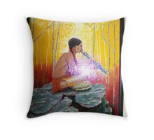 The Spirits are Present Throw Pillow