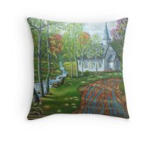 Lil'Country Church Throw Pillow